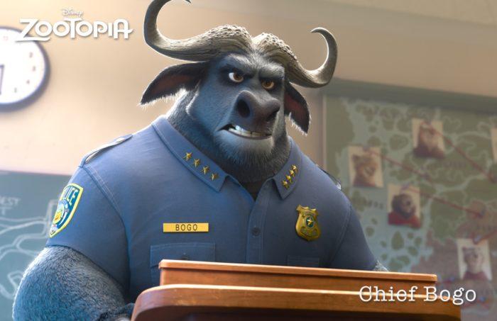 Idris Elba como Chief Bogo