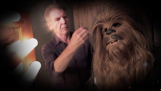 Harrison Ford se reconcilia con Chewbacca