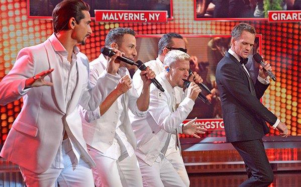 Backstreet Boys Neil Patrick Harris