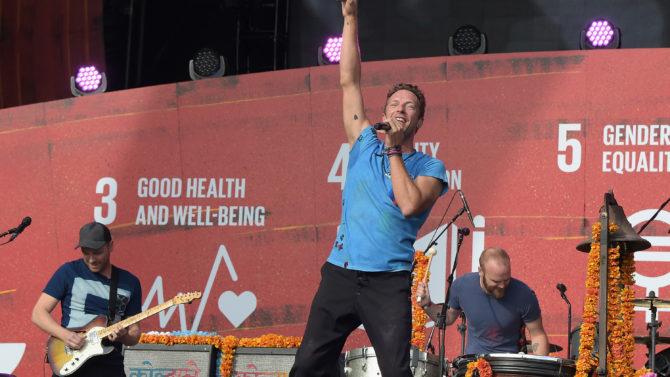Coldplay nuevo disco nueva canción