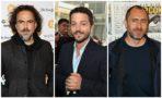 Iñárritu, Diego Luna, Demián Bichir y