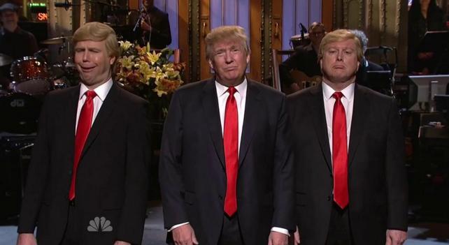 Donald Trump en SNL: Larry David