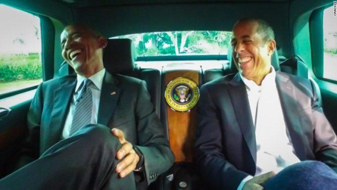 El presidente Obama aparecerá en show