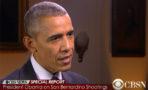 El Presidente Barack Obama reacciona ante