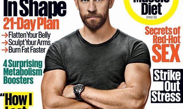 John Krasinski Men's Health Magazine
