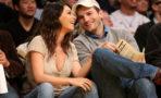 Ashton Kutcher y Mila Kunis esperan