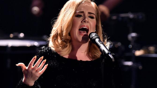 Adele Radio City Music Hall concierto