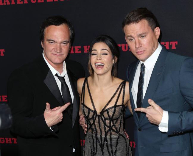 Quentin Tarantino, Jenna Dewan y Channing Tatum