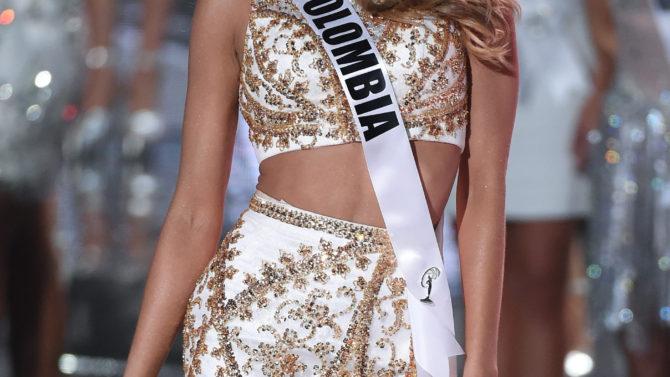 Miss Colombia Ariadna Gutiérrez Miss Universo