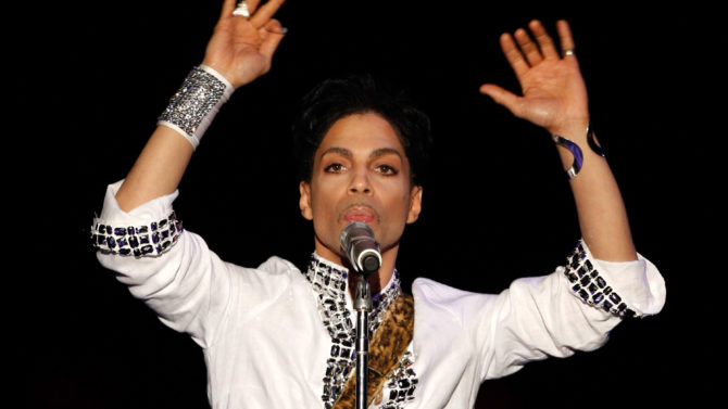 INDIO, CA - APRIL 26: Prince