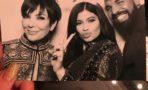 Kris Jenner fiesta navideña