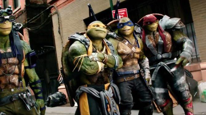 Teenage Mutant Ninja Turtles 2 tráiler