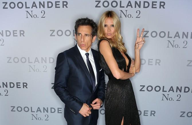 Zoolander y Heidi Klum