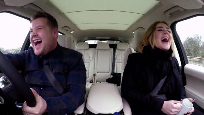 Adele Car Pool es el video