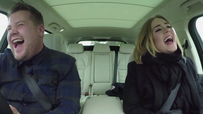 Video de Adele en Carpool Karaoke