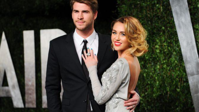 Miley Cyrus y Liam Hemsworth comprometidos