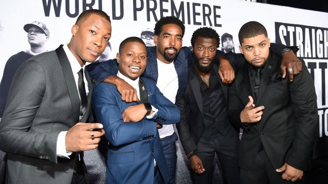 Straight Outta Compton Cast Not Invited