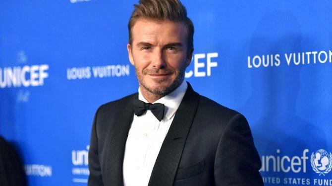 David Beckham Recibe Premio Humanitario