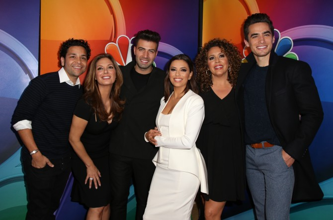 El elenco de 'Telenovela'