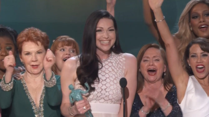 SAG Awards 2016: Laura Prepon, de