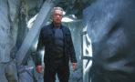 Arnold Schwarzenegger plays the Terminator in