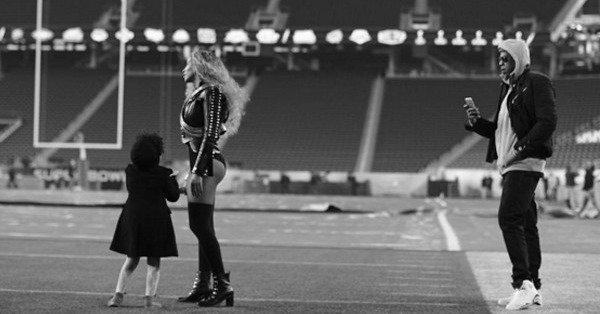 Fotos de Beyoncé y Blue Ivy