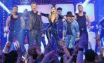 Gigi Hadid y los Backstreet Boys