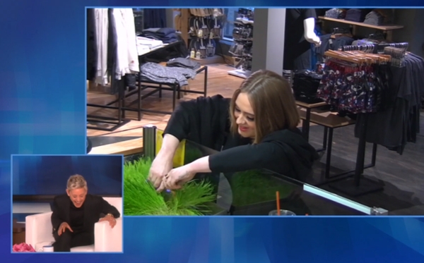 Adele y Ellen DeGeneres le juegan