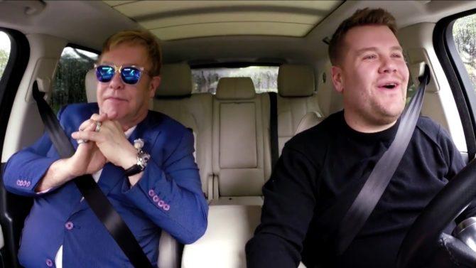 Elton John en Carpool Karaoke