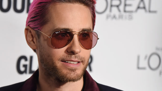 Jared Leto Glamour Women of the