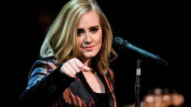 Adele niega permiso a Donald Trump