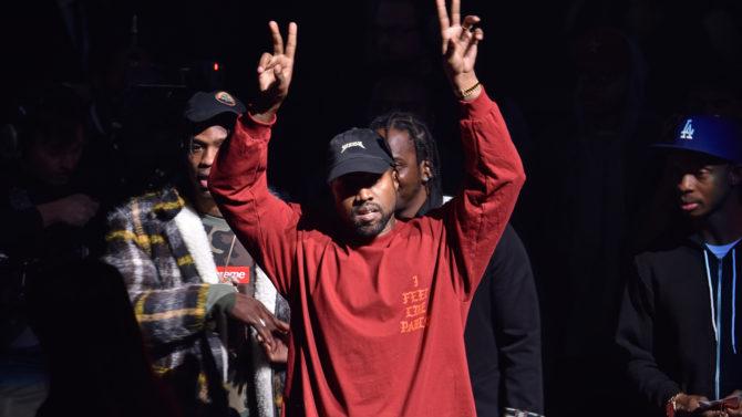 Kanye West debuta su nueva colección