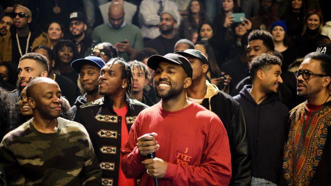 Pusha T, Kanye West Yeezy show,