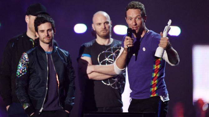 Coldplay hace historia en los Brit
