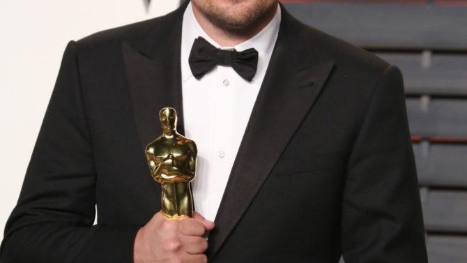 Leonardo DiCaprio Vanity Fair Oscar Party,