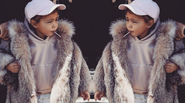 North West, hija de Kim Kardashian,