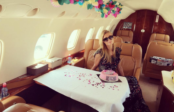 Fotos de Paris Hilton celebrando su