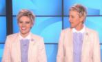 Kate McKinnon imita a Ellen DeGeneres