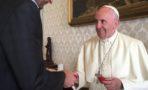 El papa Francisco tuvo un encuentro