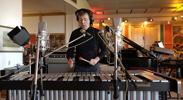 Paul McCartney Records Music for Skype's