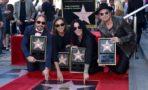 Maná Recibe Estrella En Hollywood Walk
