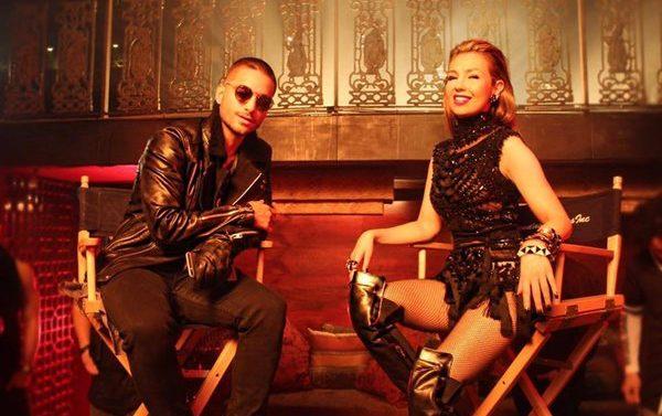 Thalía y Maluma estrenan el video