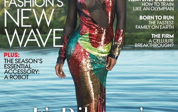 Fotos de Rihanna en la portada