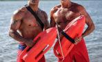 David Hasselhoff graba escenas de 'Baywatch'