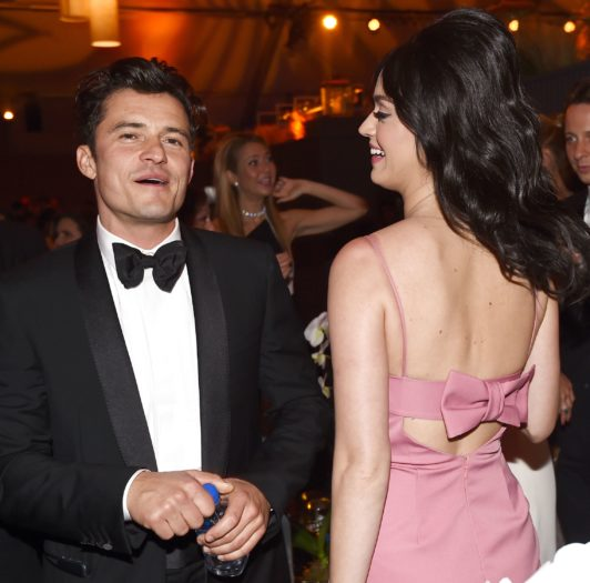Orlando y Bloom y Katy Perry
