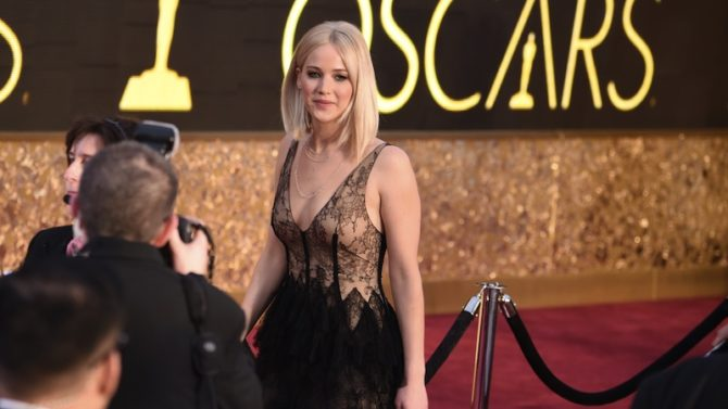 Jennifer Lawrence 88th Annual Academy Awards,