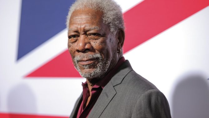 Morgan Freeman 'London Has Fallen' film