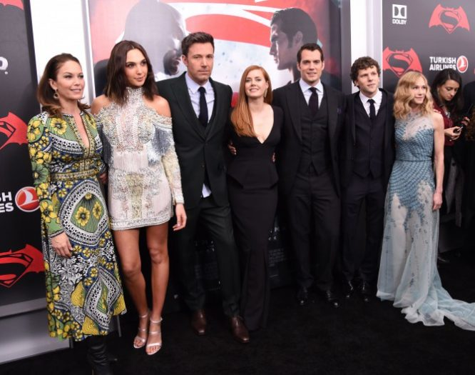 Elenco de 'Batman v Superman: Dawn of Justice'