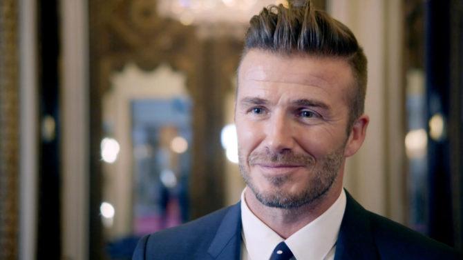 David Beckham muestra su nuevo tatuaje