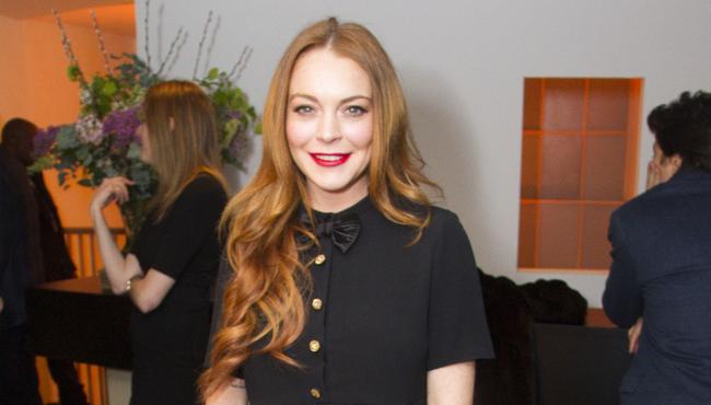 Lindsay Lohan estrena novio [FOTO]